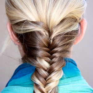 Day 19- the fishtail braid