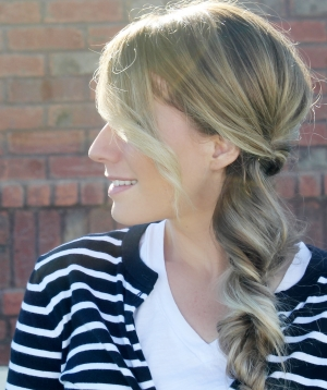 Holiday Side Braid