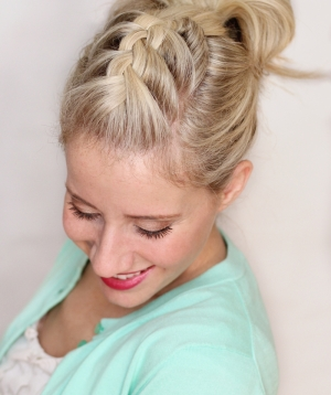 Braided Pompadour
