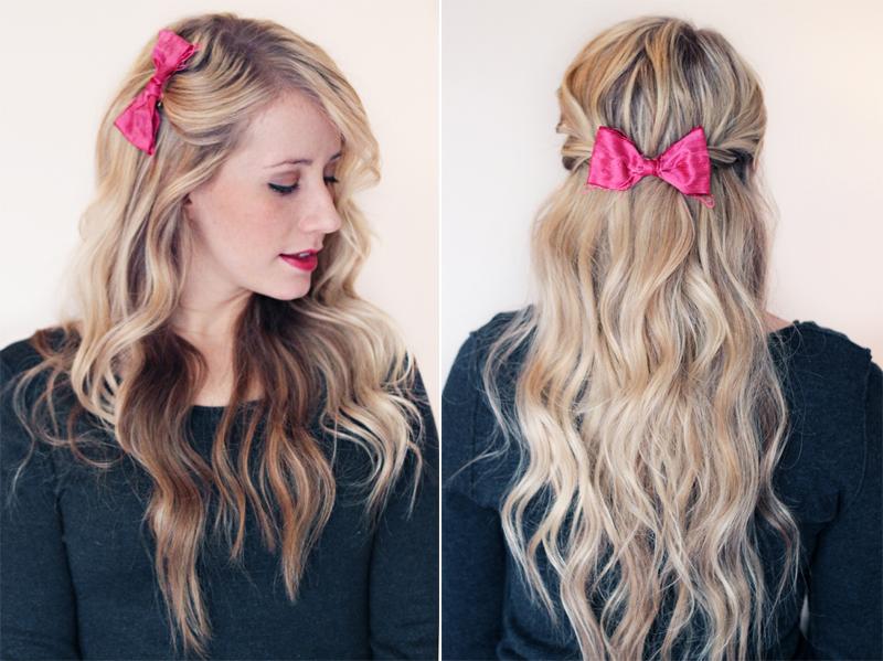 Fantastic 8 Ways To Style A Bow Twist Me Pretty Short Hairstyles Gunalazisus
