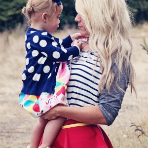 Mommy-daughter style + Giveaway
