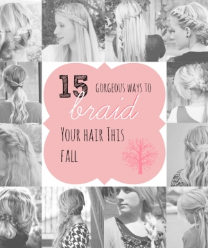 15 ways to braid your hair