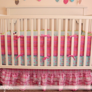 How to: Spray Paint a Crib