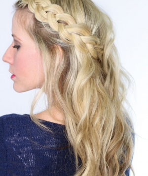 Soft Dutch Braid | Day 15