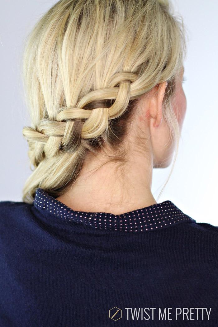 Superb Carousel Braid Day 10 Twist Me Pretty Short Hairstyles Gunalazisus