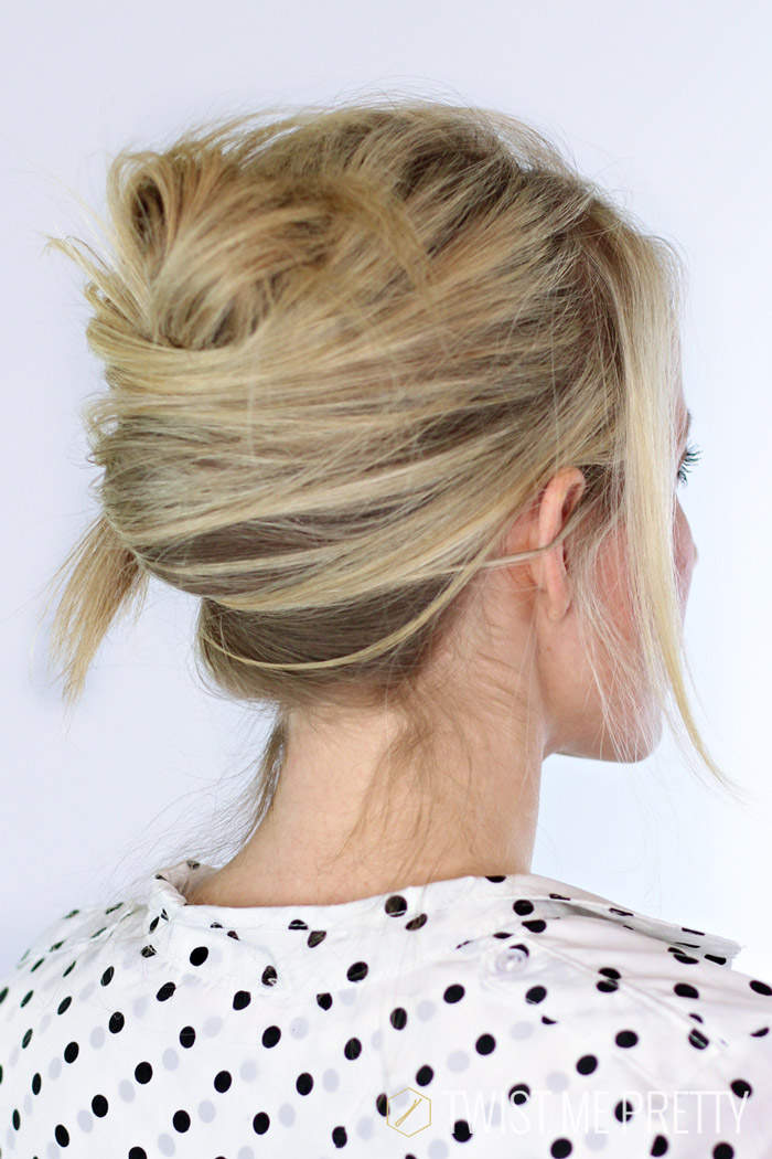 Pleasant Textured French Twist Day 7 Twist Me Pretty Hairstyle Inspiration Daily Dogsangcom