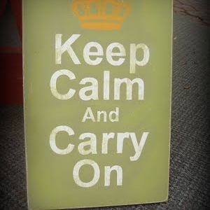 How to: Keep Calm Sign
