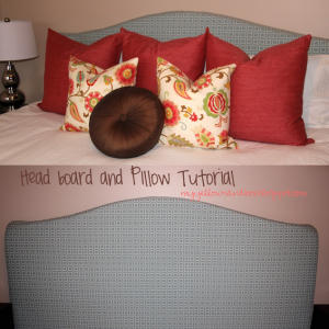 Upholstered Headboard Tutorial- king size