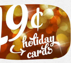 49 cent Christmas cards