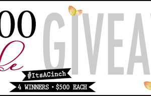 $2,000 Fall Style Giveaway #itsacinch