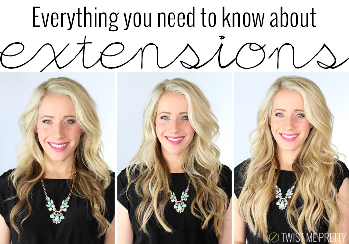 All About Extensions Day 5 Twist Me Pretty