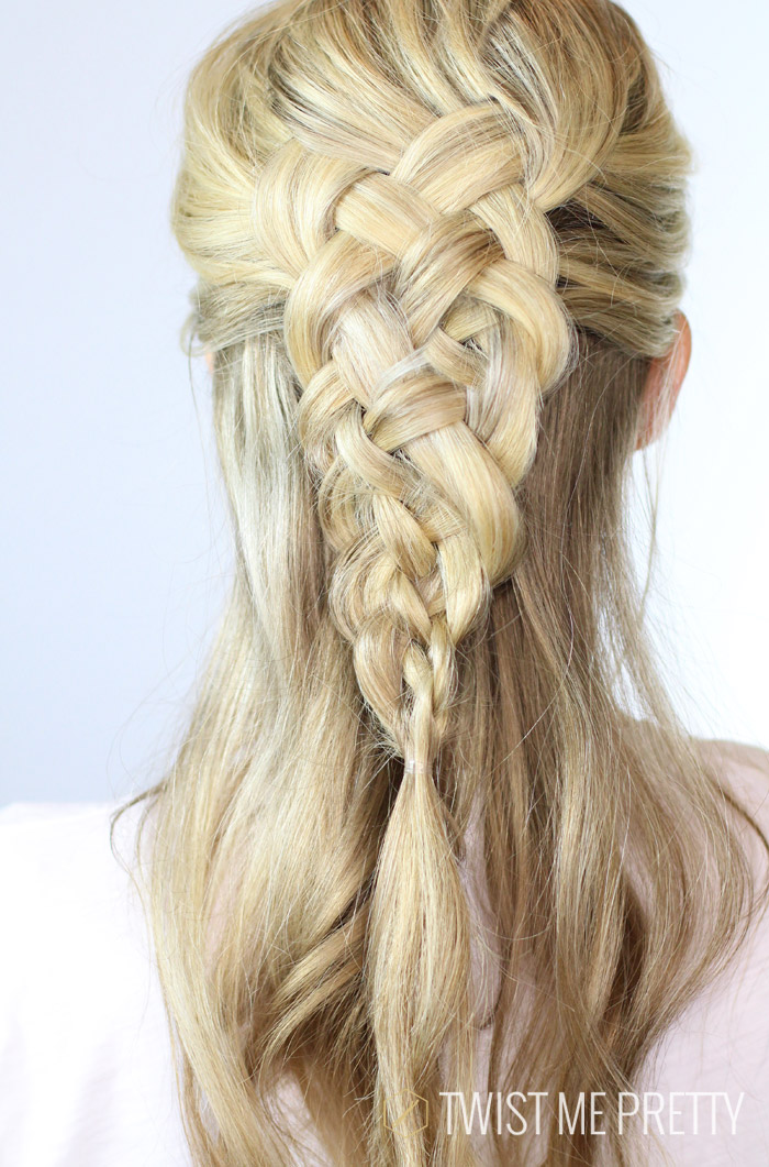 Dutch Braid 5 strand dutch braid