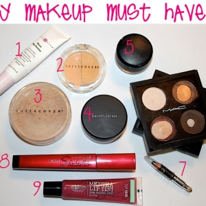 My Makeup Must Haves