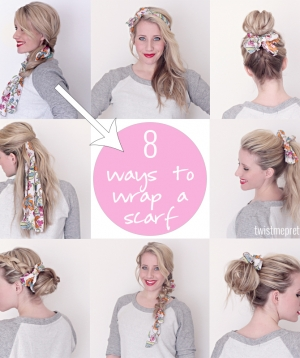 8 Ways to Wrap a Head Scarf
