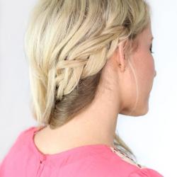 Super Carousel Braid Day 10 Twist Me Pretty Short Hairstyles Gunalazisus