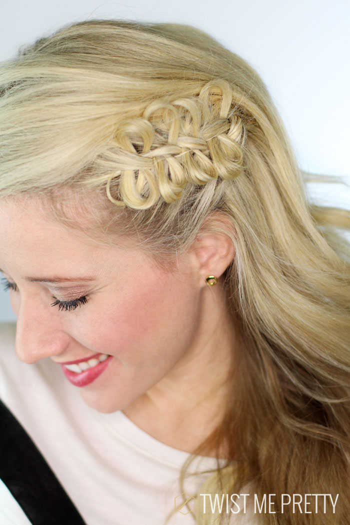 cute hair styles for wet hair hunger bow braid twist me pretty 2897 | 34