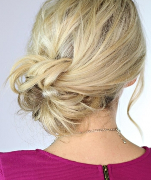 Knotted Updo | Day 25