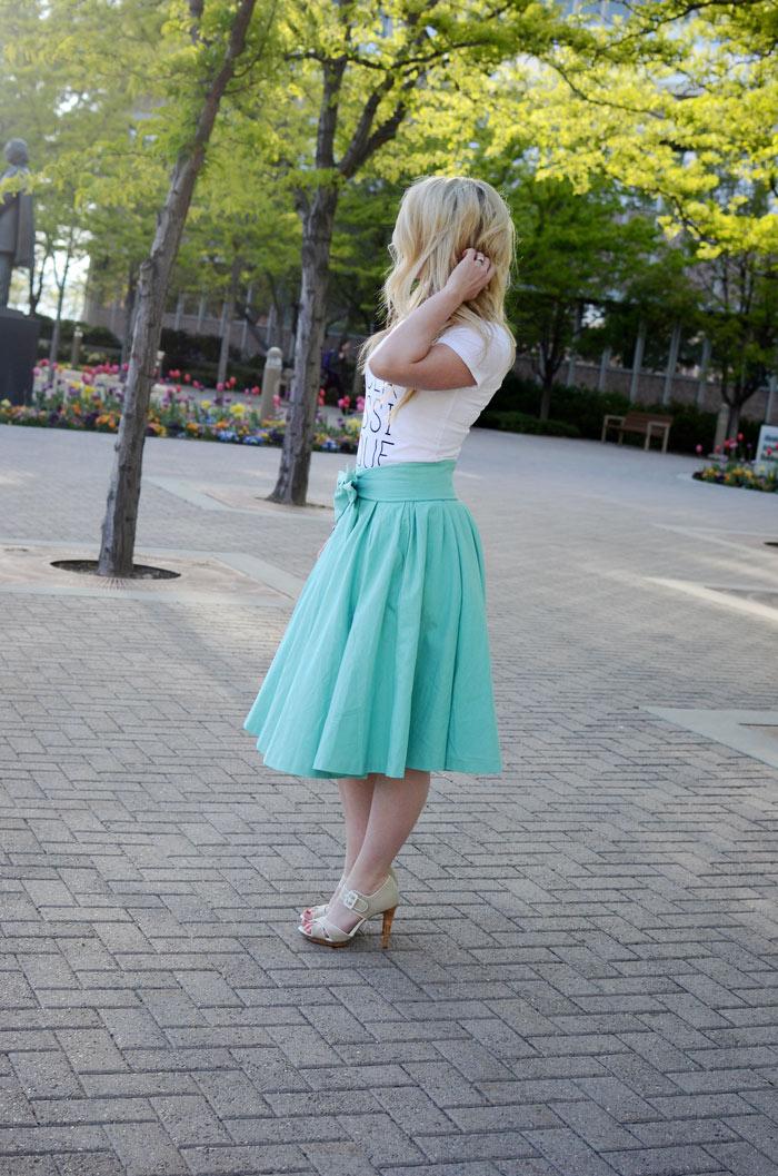 blogger skirts