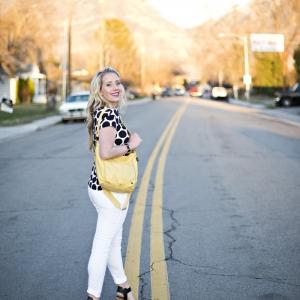 4 Ways to Style a Polka Dot Tee