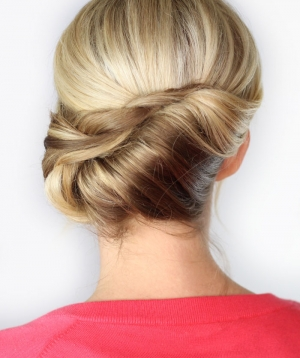 Twisted Chignon | Day 30
