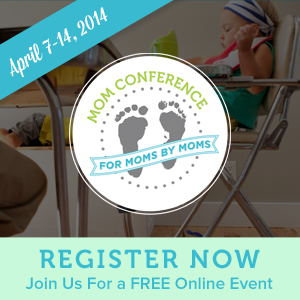 I'm Teaching at the Mom Conference!