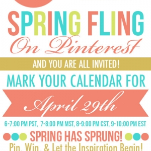 Spring Fling Pinners Party — TONIGHT!!!