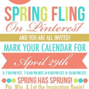 Spring Fling Party on Pinterest!