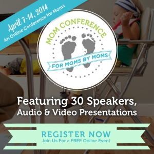 EEEK!  The Mom Conference starts tomorrow!