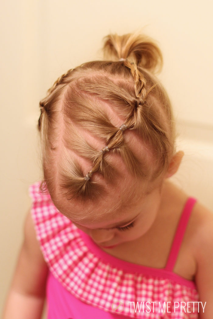 Awesome Styles For The Wispy Haired Toddler Twist Me Pretty Hairstyles For Women Draintrainus