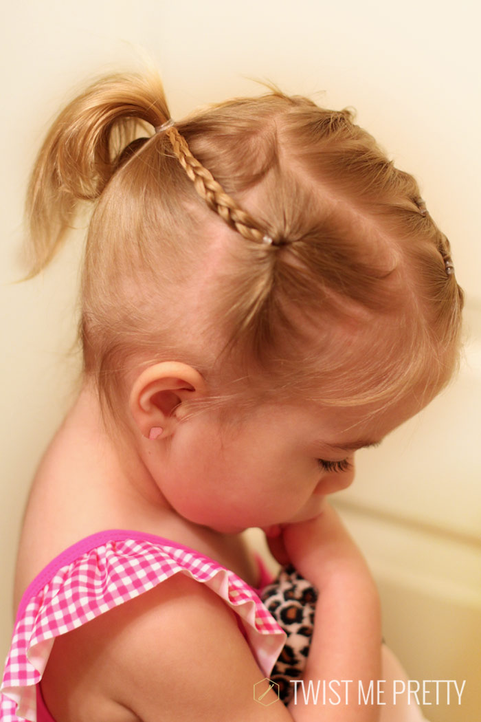 Styles for the wispy haired toddler - Twist Me Pretty