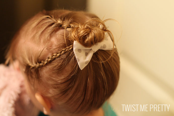 Styles for the wispy haired toddler , Twist Me Pretty