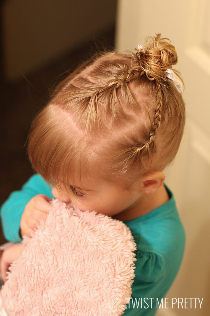Pleasing Styles For The Wispy Haired Toddler Twist Me Pretty Short Hairstyles Gunalazisus