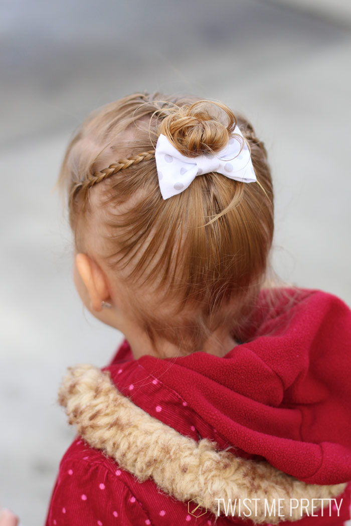 Styles Wispy Haired Toddler Twist Pretty