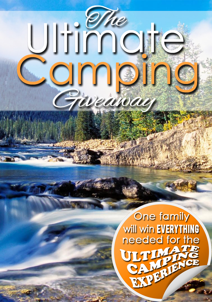 Camping Giveaway - Pinterest