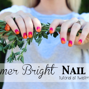 Summer Bright Nail Art