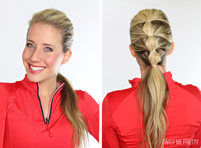 workout hair styles