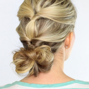 3 Buildable Summer Hairstyles