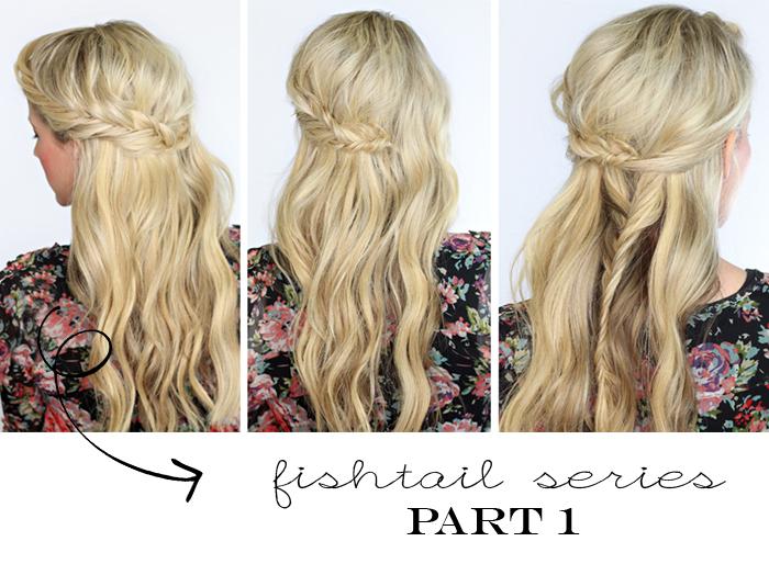 DIY Fishtail Hairstyles