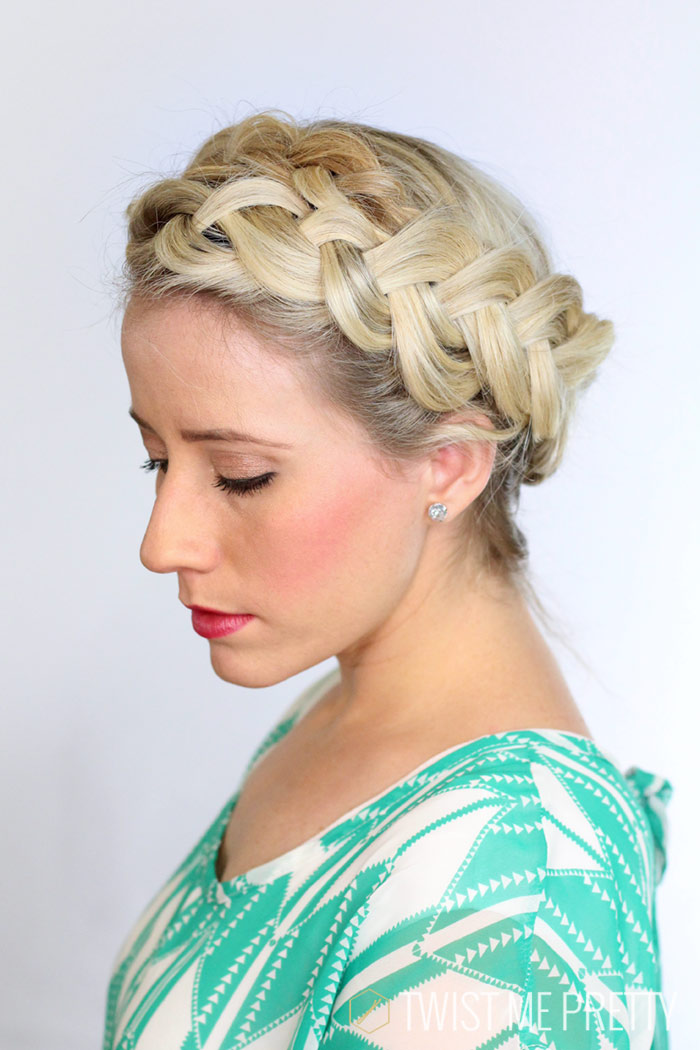 Miraculous A Fat Halo Braid Twist Me Pretty Short Hairstyles Gunalazisus