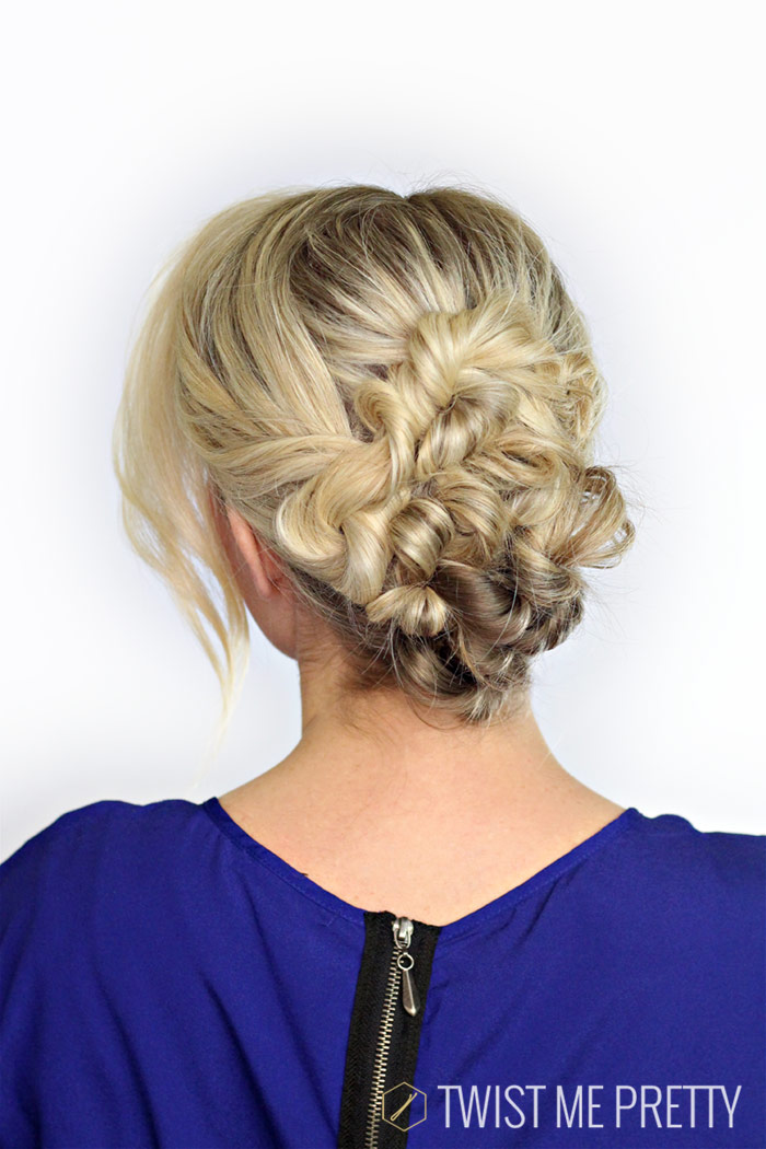 easy wedding hairstyle