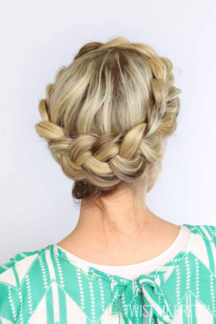 halo braid diy