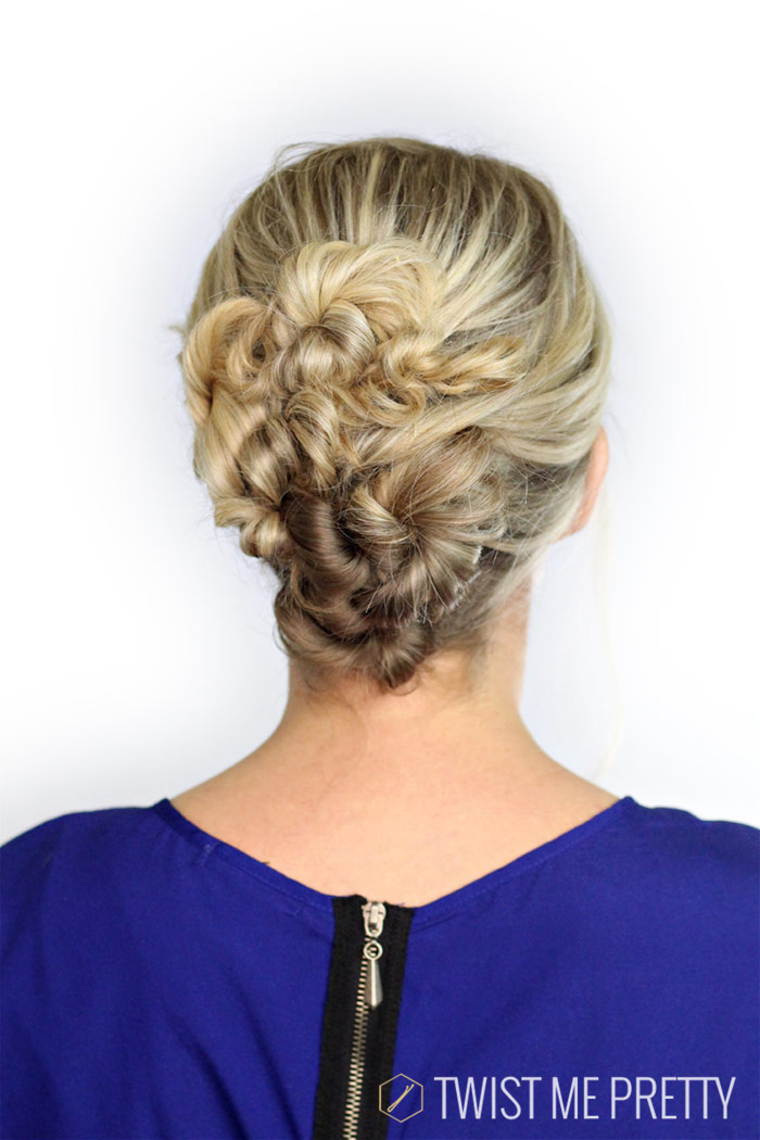 pretty hairstyle for event