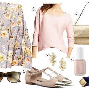 Blush and Floral