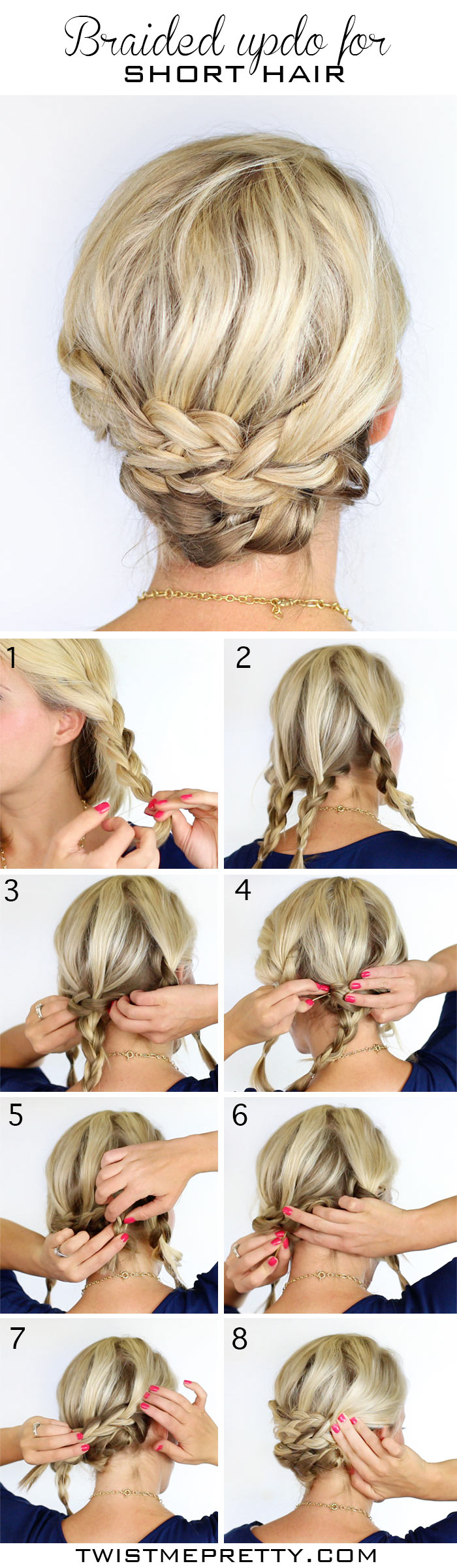 DIY Bohemian Braids Twist Me Pretty