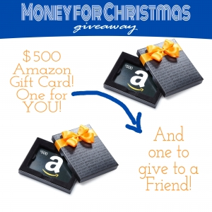 $500 Amazon Gift Card — TIMES TWO!