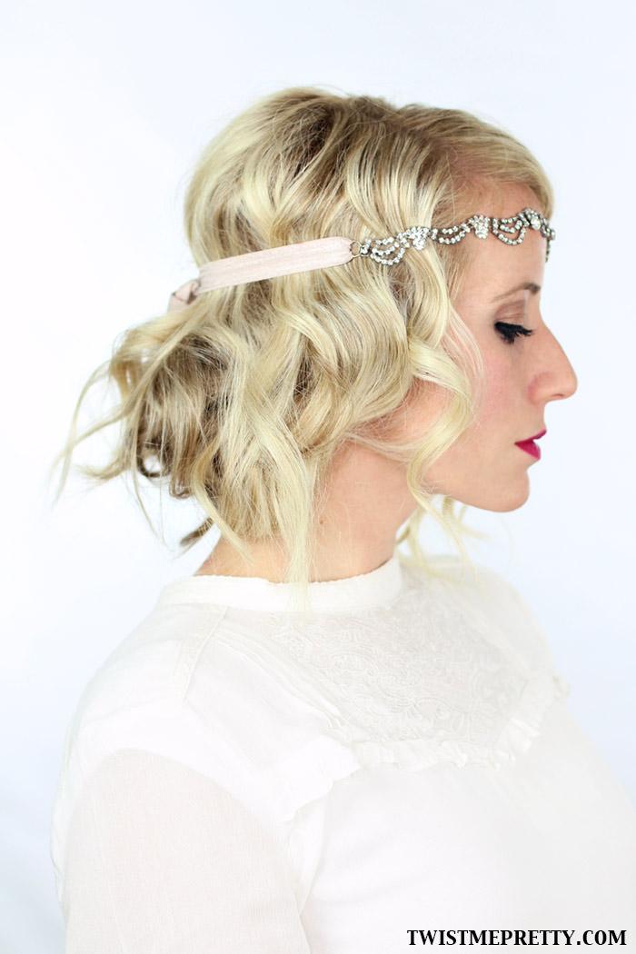 Strange 2 Gorgeous Gatsby Hairstyles For Halloween Or A Wedding Twist Short Hairstyles Gunalazisus