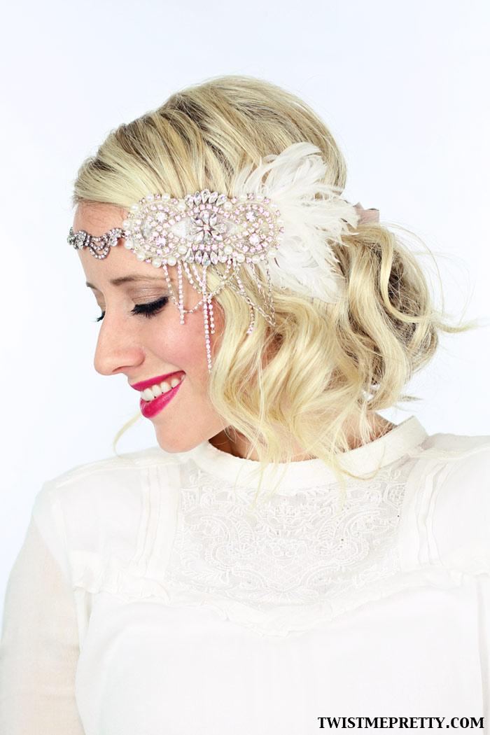 Remarkable 2 Gorgeous Gatsby Hairstyles For Halloween Or A Wedding Twist Short Hairstyles Gunalazisus