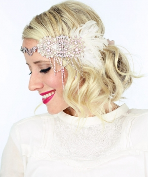 2 gorgeous GATSBY hairstyles for Halloween… or a wedding