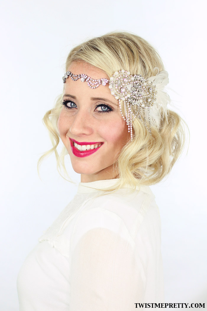 Cool 2 Gorgeous Gatsby Hairstyles For Halloween Or A Wedding Twist Short Hairstyles Gunalazisus