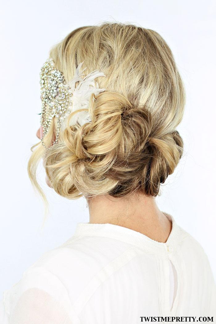 Sensational 2 Gorgeous Gatsby Hairstyles For Halloween Or A Wedding Twist Short Hairstyles Gunalazisus